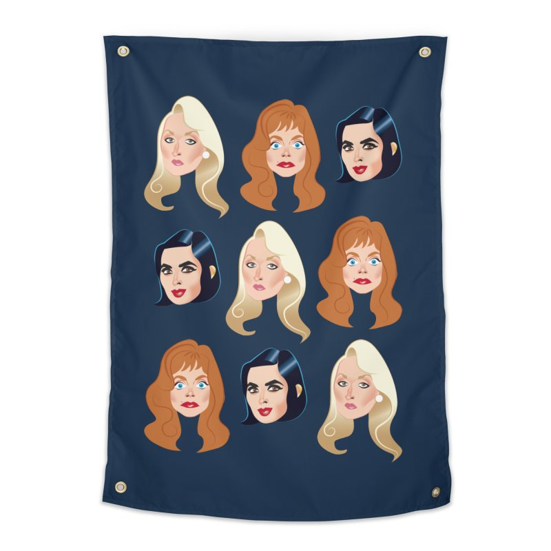 Death becomes her Home Tapestry by Ale Mogolloart's Artist Shop