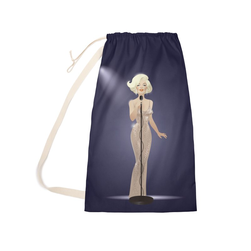 Happy birthday Accessories Laundry Bag Bag by Ale Mogolloart's Artist Shop