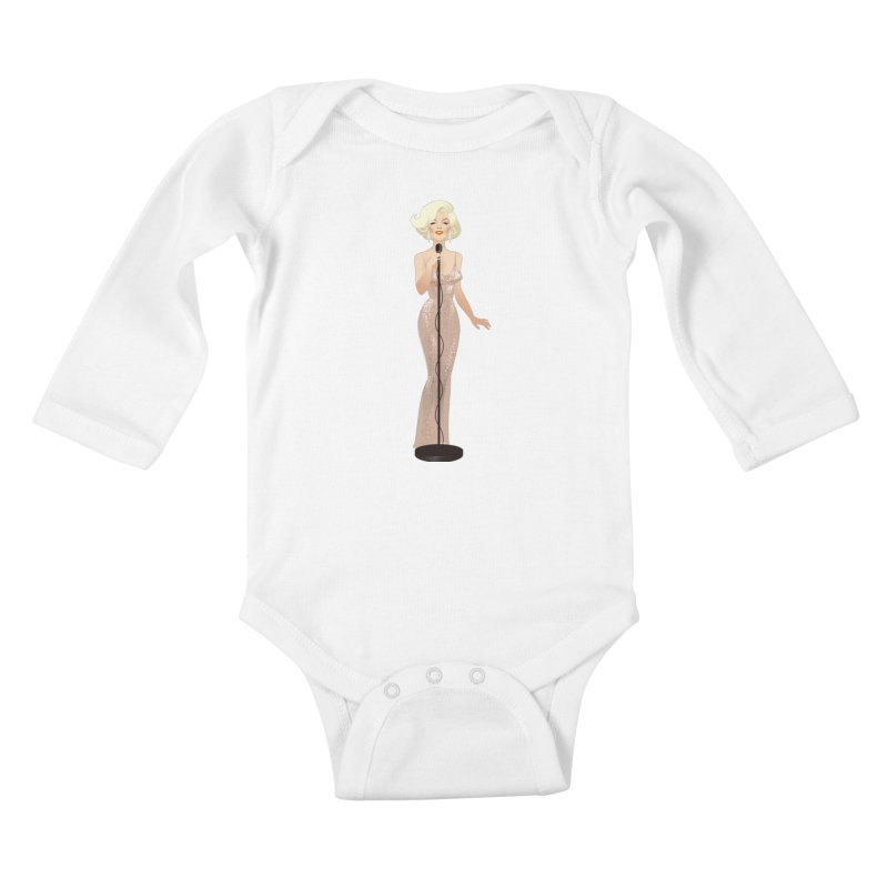Happy birthday Kids Baby Longsleeve Bodysuit by Ale Mogolloart's Artist Shop