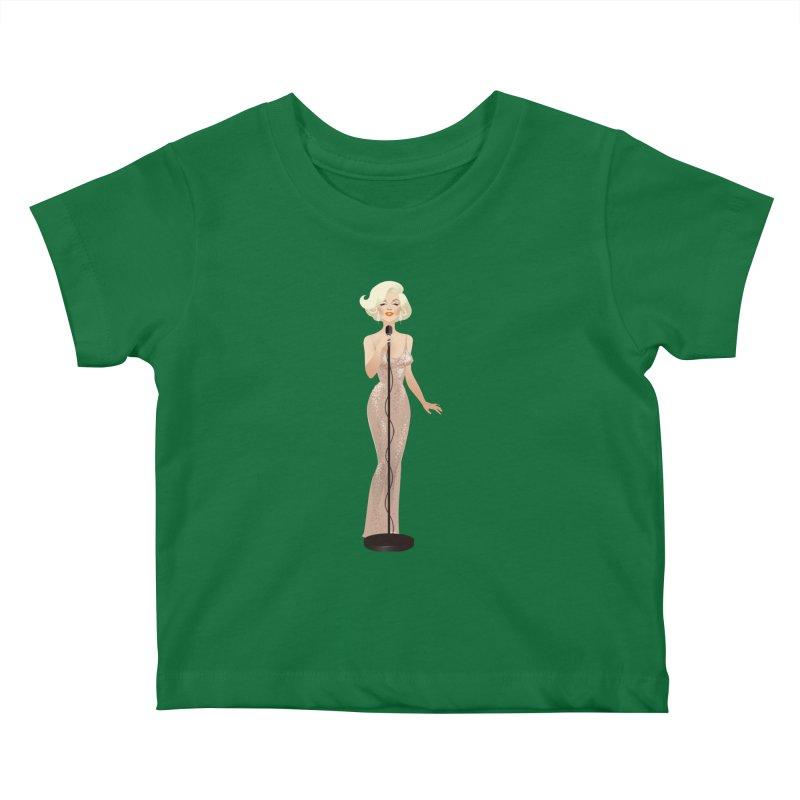 Happy birthday Kids Baby T-Shirt by Ale Mogolloart's Artist Shop