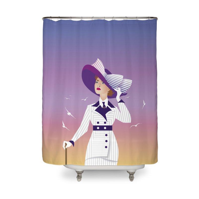 Rose Home Shower Curtain by Ale Mogolloart's Artist Shop