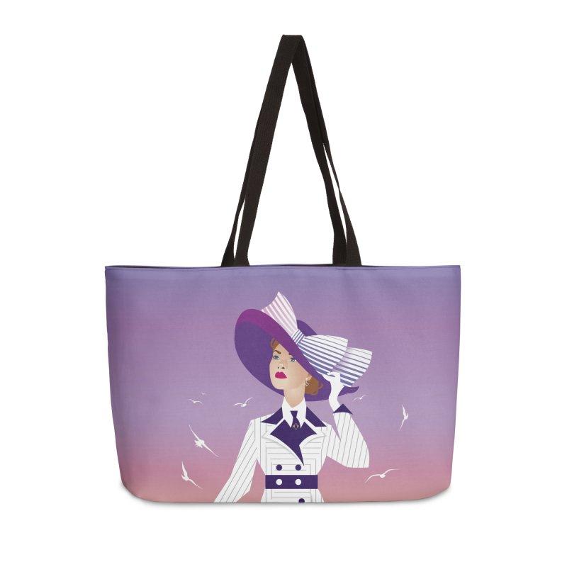 Rose Accessories Weekender Bag Bag by Ale Mogolloart's Artist Shop