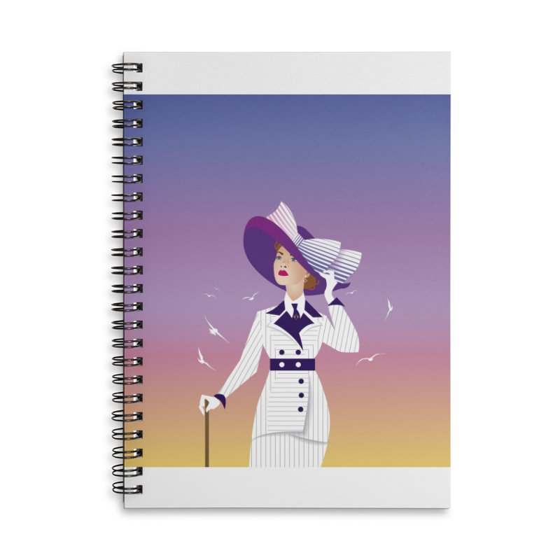 Rose Accessories Lined Spiral Notebook by Ale Mogolloart's Artist Shop