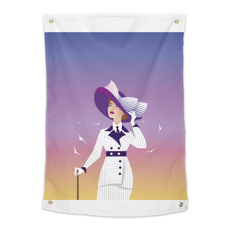 Rose Home Tapestry by Ale Mogolloart's Artist Shop