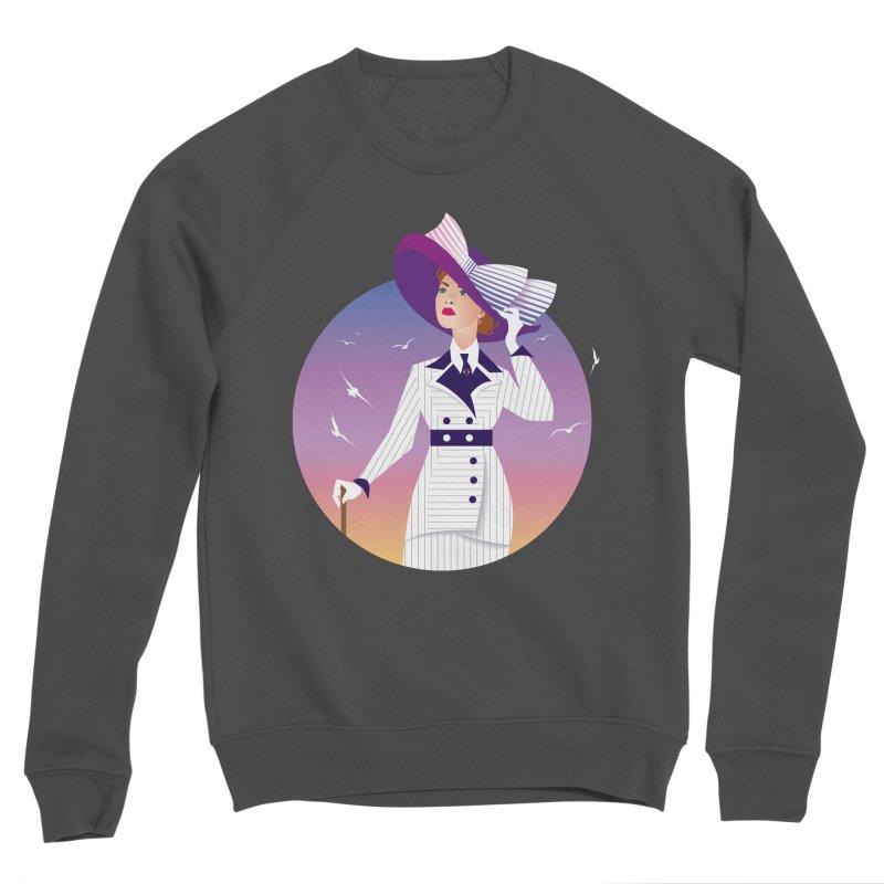 Rose Men's Sponge Fleece Sweatshirt by Ale Mogolloart's Artist Shop