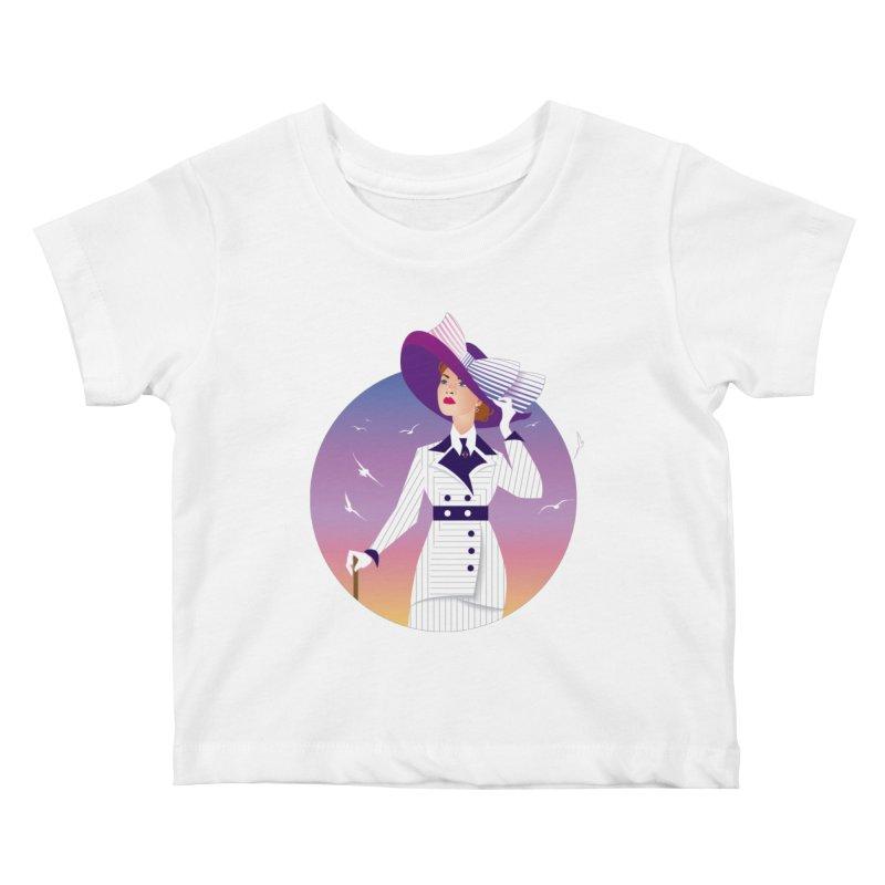 Rose Kids Baby T-Shirt by Ale Mogolloart's Artist Shop