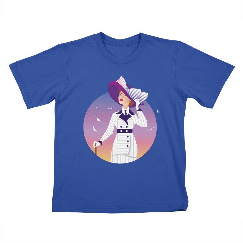 Rose Kids T-Shirt by Ale Mogolloart's Artist Shop