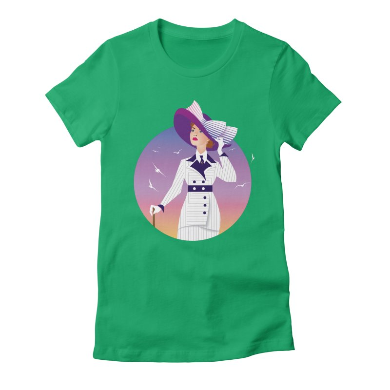 Rose Women's Fitted T-Shirt by Ale Mogolloart's Artist Shop