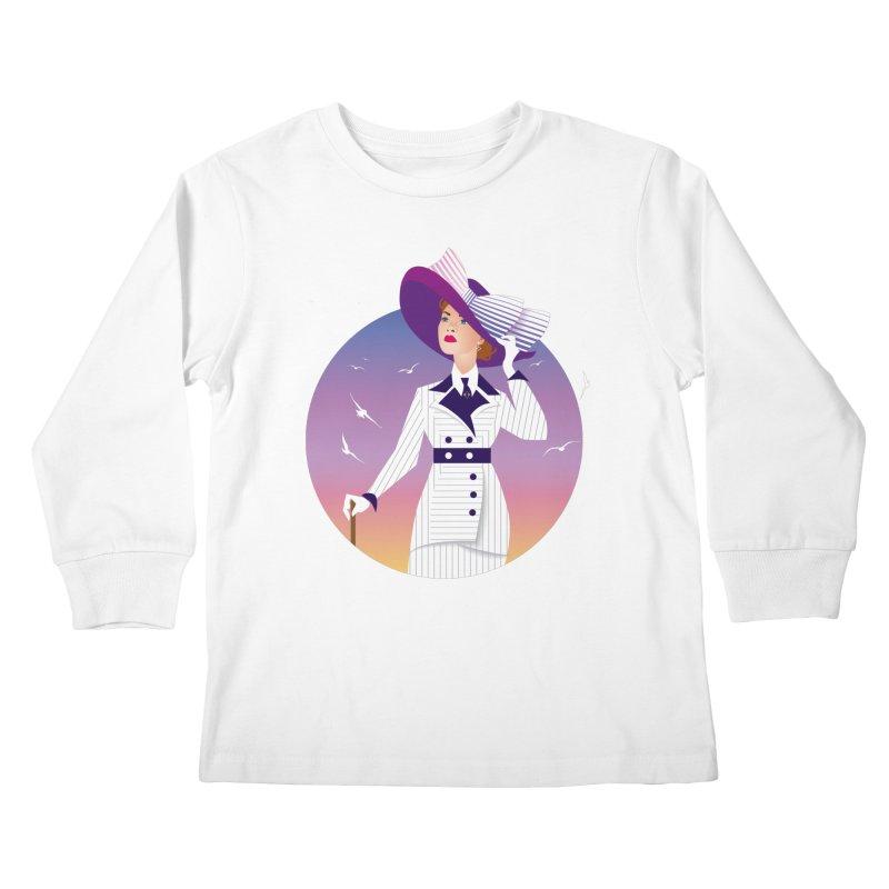 Rose Kids Longsleeve T-Shirt by Ale Mogolloart's Artist Shop