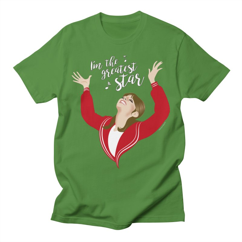 Greatest star Women's Regular Unisex T-Shirt by Ale Mogolloart's Artist Shop