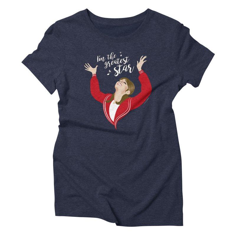 Greatest star Women's Triblend T-Shirt by Ale Mogolloart's Artist Shop