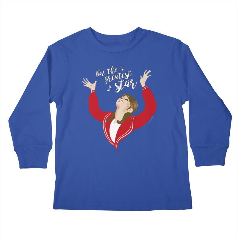 Greatest star Kids Longsleeve T-Shirt by Ale Mogolloart's Artist Shop