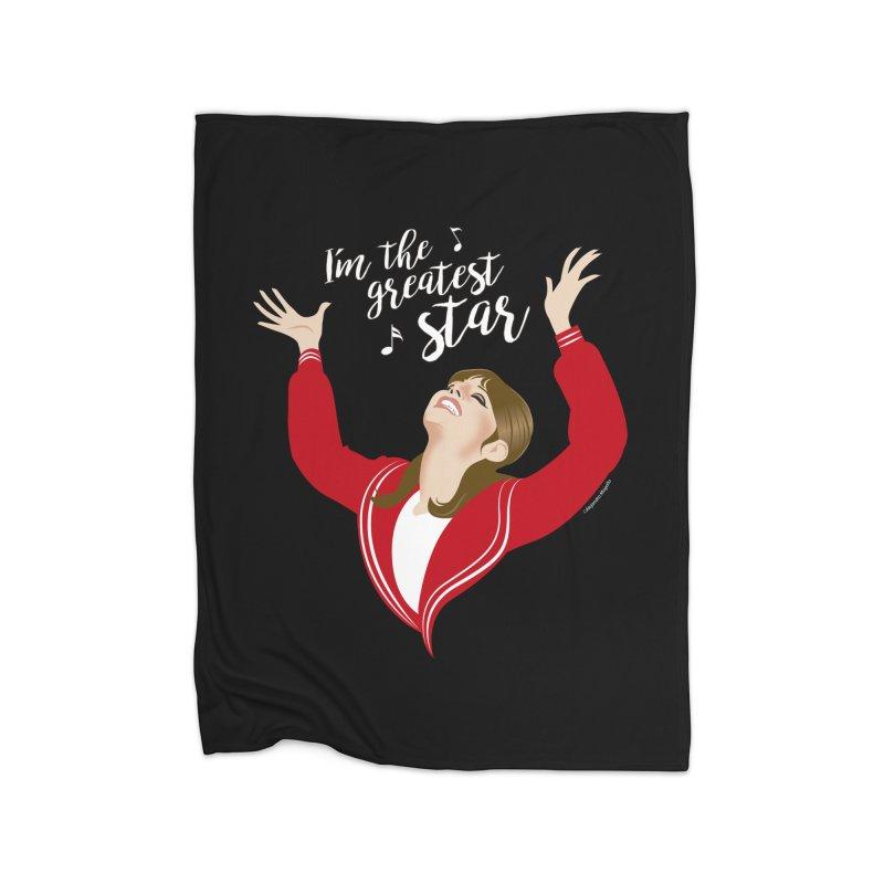 Greatest star Home Fleece Blanket Blanket by Ale Mogolloart's Artist Shop