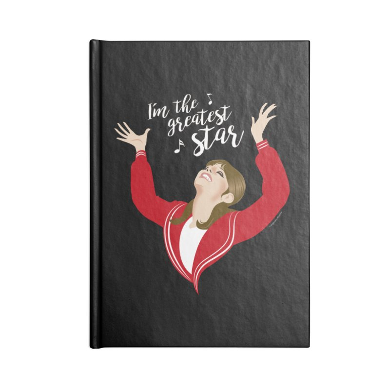 Greatest star Accessories Lined Journal Notebook by Ale Mogolloart's Artist Shop