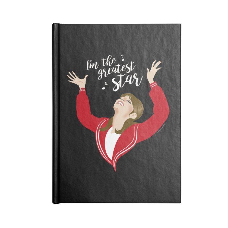 Greatest star Accessories Blank Journal Notebook by Ale Mogolloart's Artist Shop