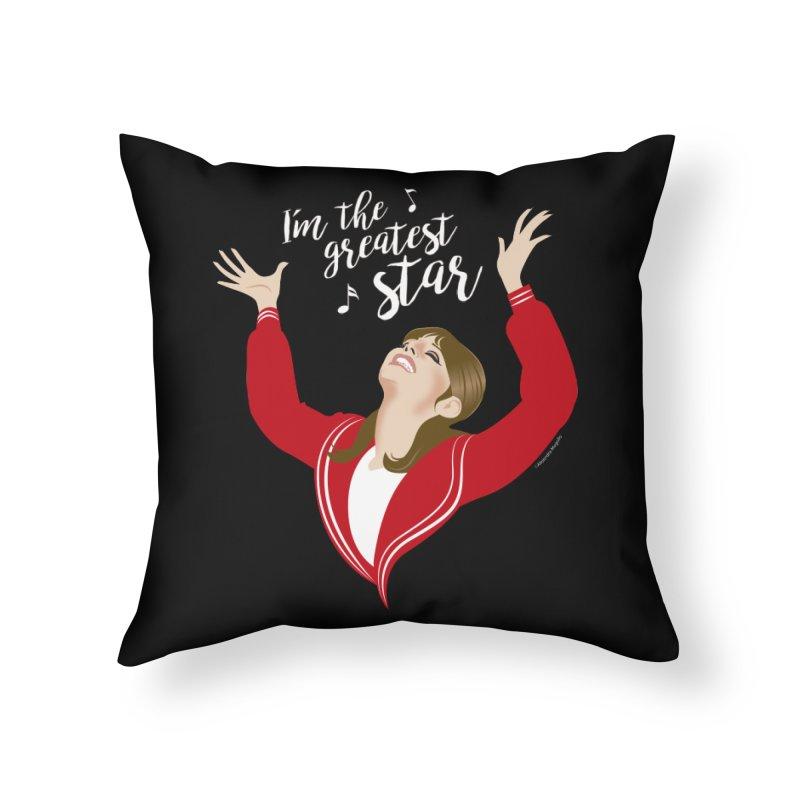 Greatest star Home Throw Pillow by Ale Mogolloart's Artist Shop
