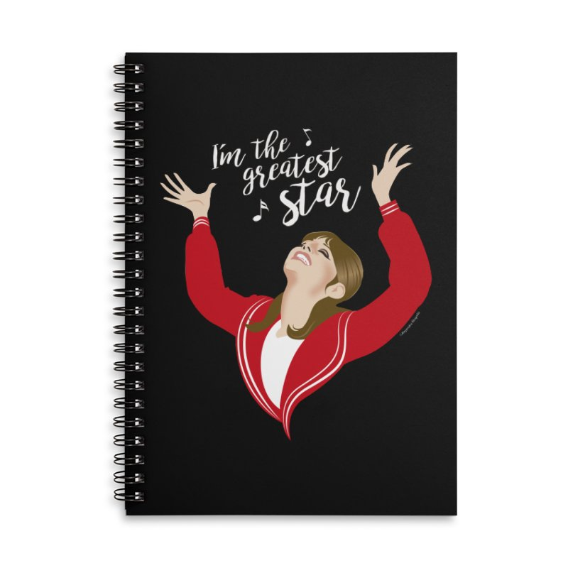 Greatest star Accessories Lined Spiral Notebook by Ale Mogolloart's Artist Shop