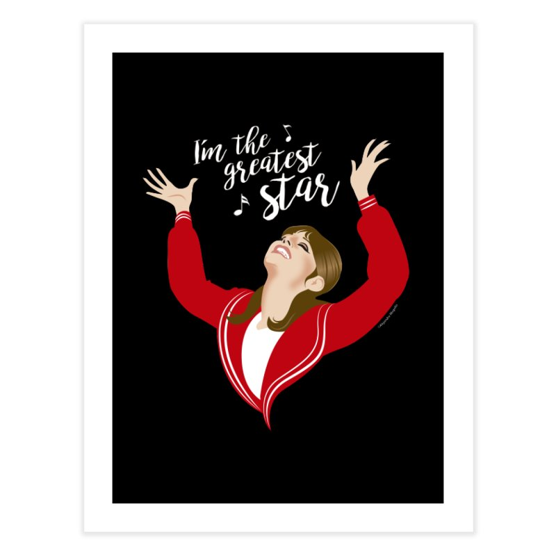 Greatest star Home Fine Art Print by Ale Mogolloart's Artist Shop