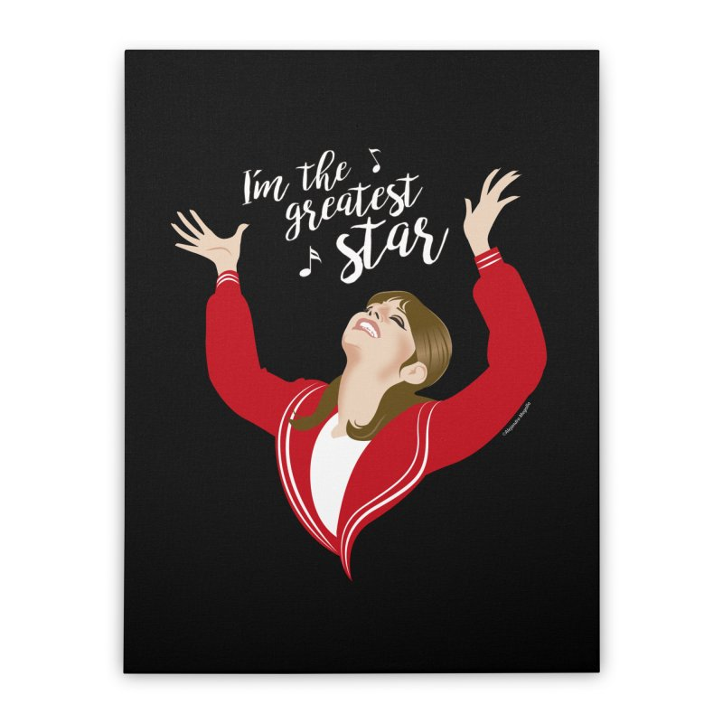 Greatest star Home Stretched Canvas by Ale Mogolloart's Artist Shop