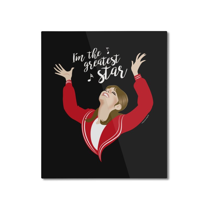 Greatest star Home Mounted Aluminum Print by Ale Mogolloart's Artist Shop