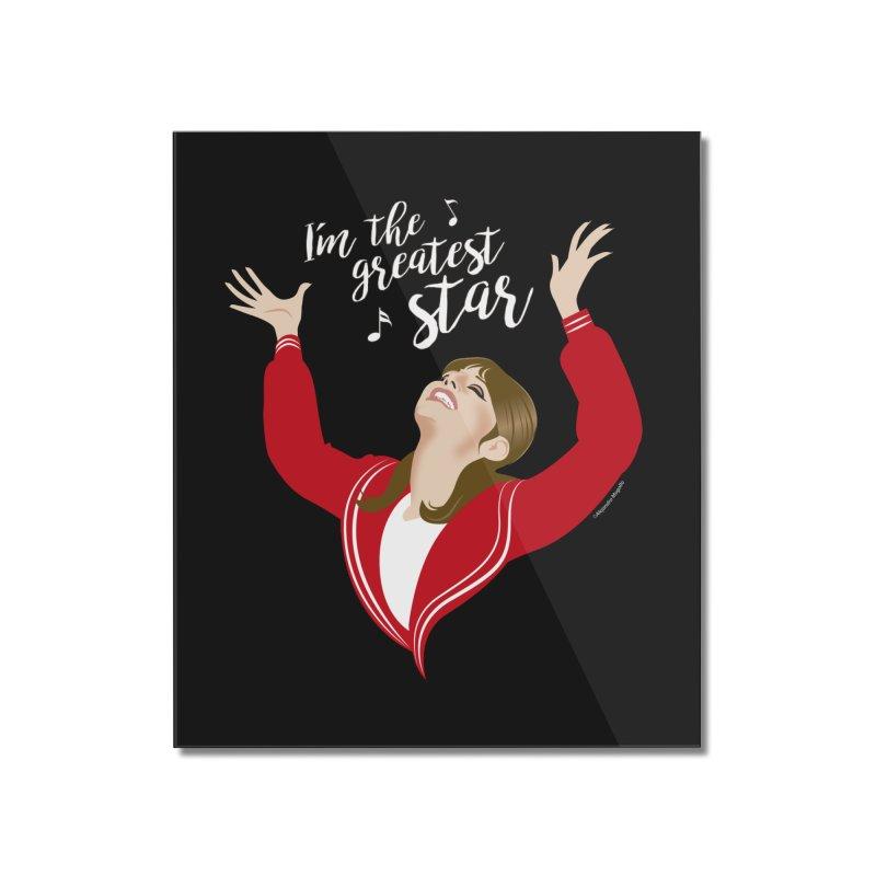Greatest star Home Mounted Acrylic Print by Ale Mogolloart's Artist Shop