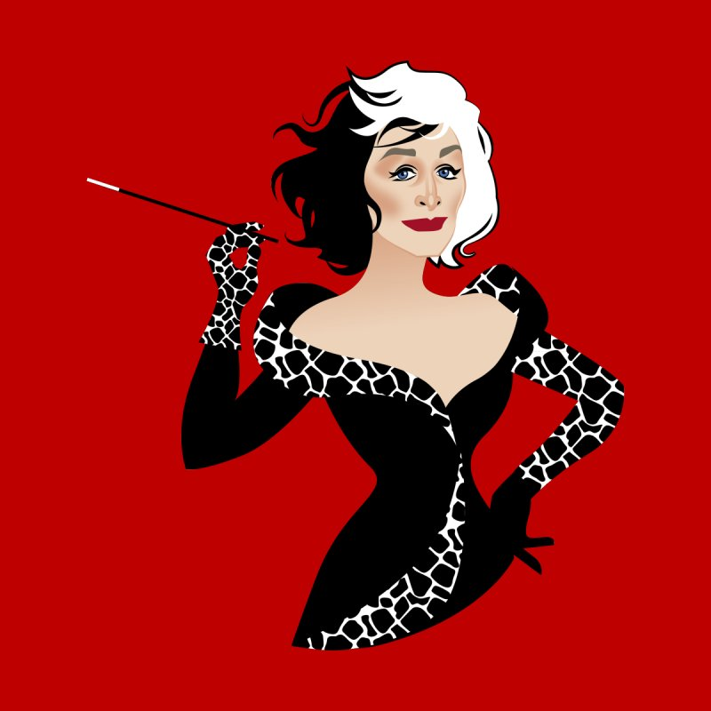 Cruella de Vil Accessories Bag by Ale Mogolloart's Artist Shop