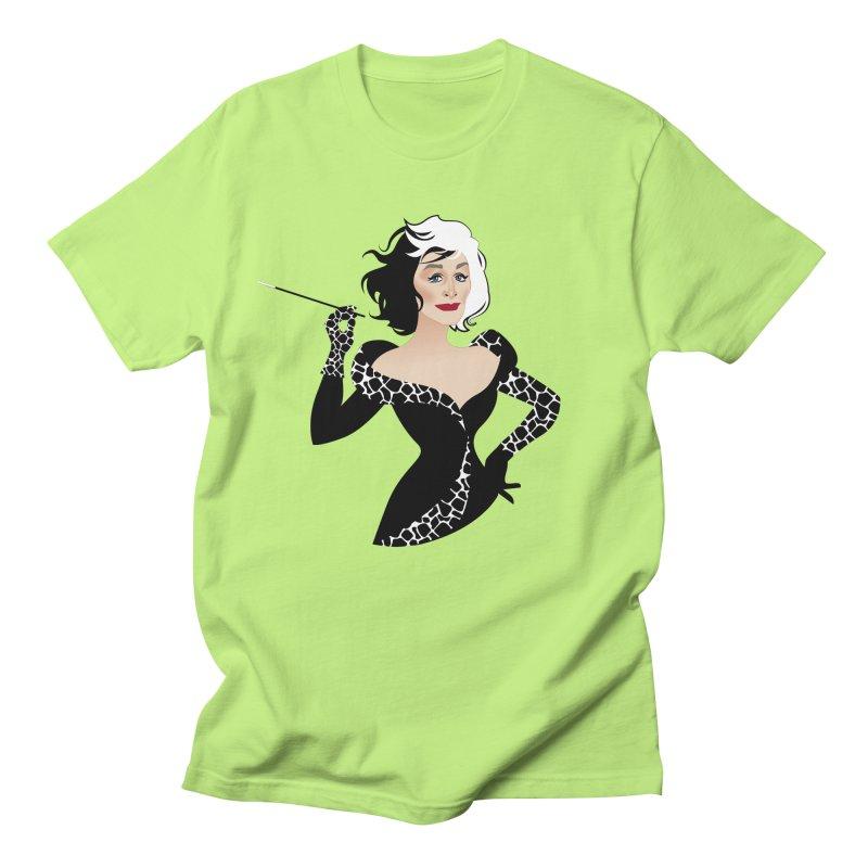 Cruella de Vil Women's Regular Unisex T-Shirt by Ale Mogolloart's Artist Shop