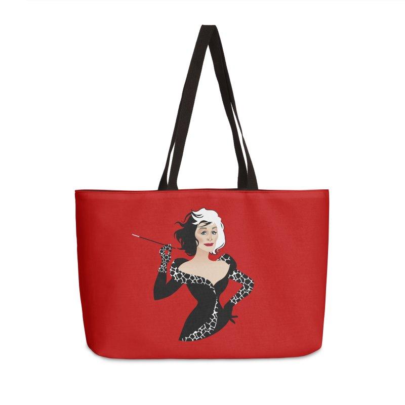 Cruella de Vil Accessories Weekender Bag Bag by Ale Mogolloart's Artist Shop