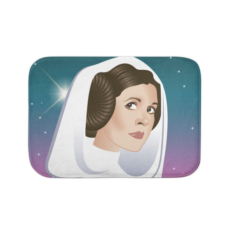 Carrie Home Bath Mat by Ale Mogolloart's Artist Shop