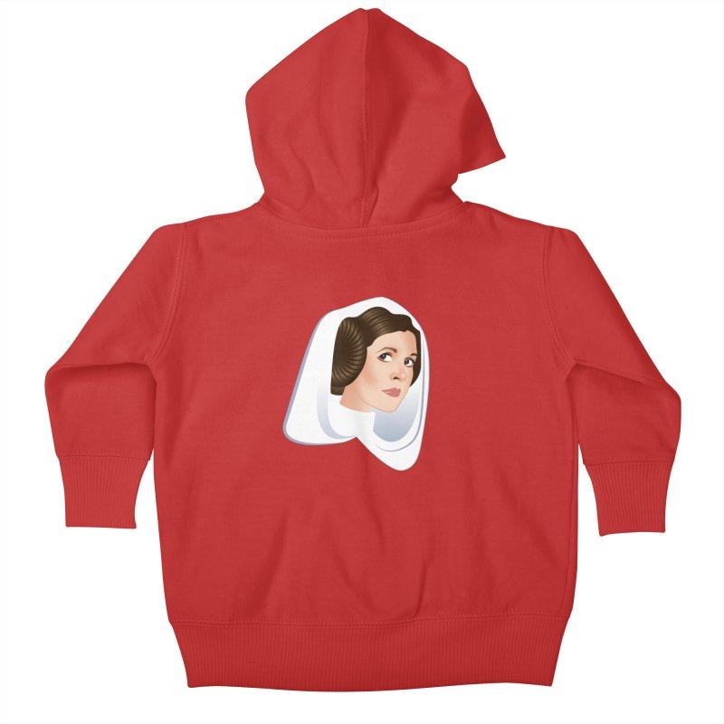 Carrie Kids Baby Zip-Up Hoody by Ale Mogolloart's Artist Shop