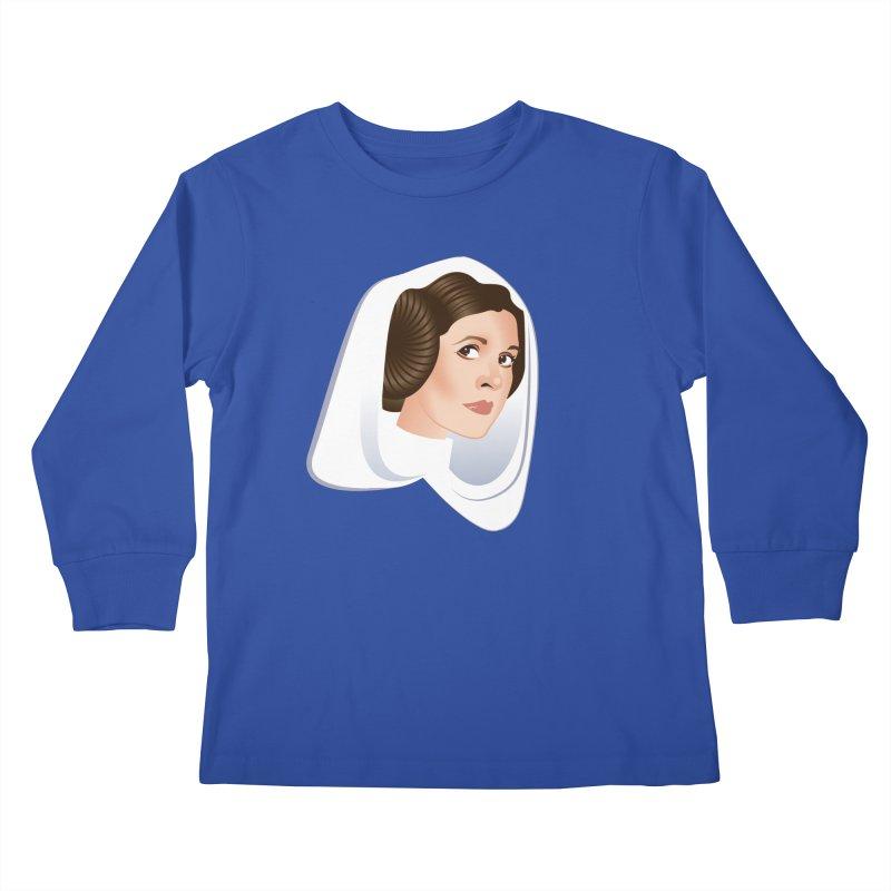 Carrie Kids Longsleeve T-Shirt by Ale Mogolloart's Artist Shop