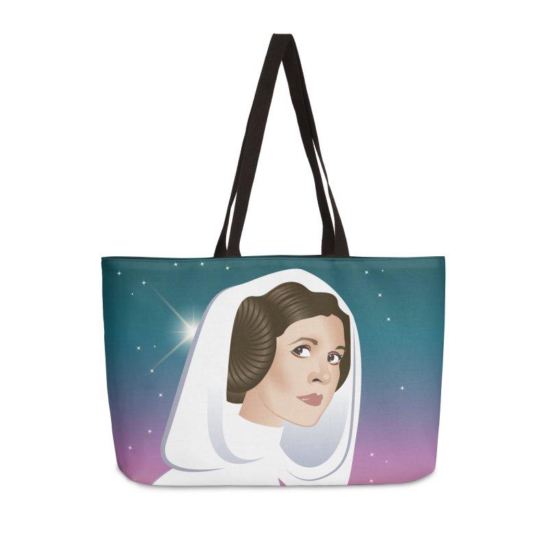 Carrie Accessories Weekender Bag Bag by Ale Mogolloart's Artist Shop