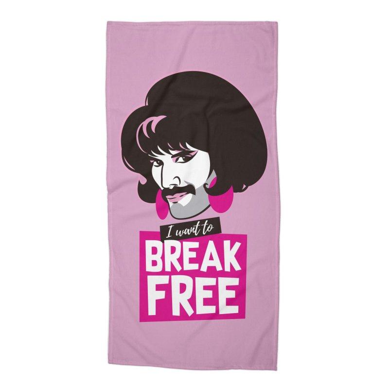 Free Accessories Beach Towel by Ale Mogolloart's Artist Shop