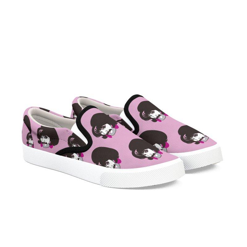 Free Men's Slip-On Shoes by Ale Mogolloart's Artist Shop