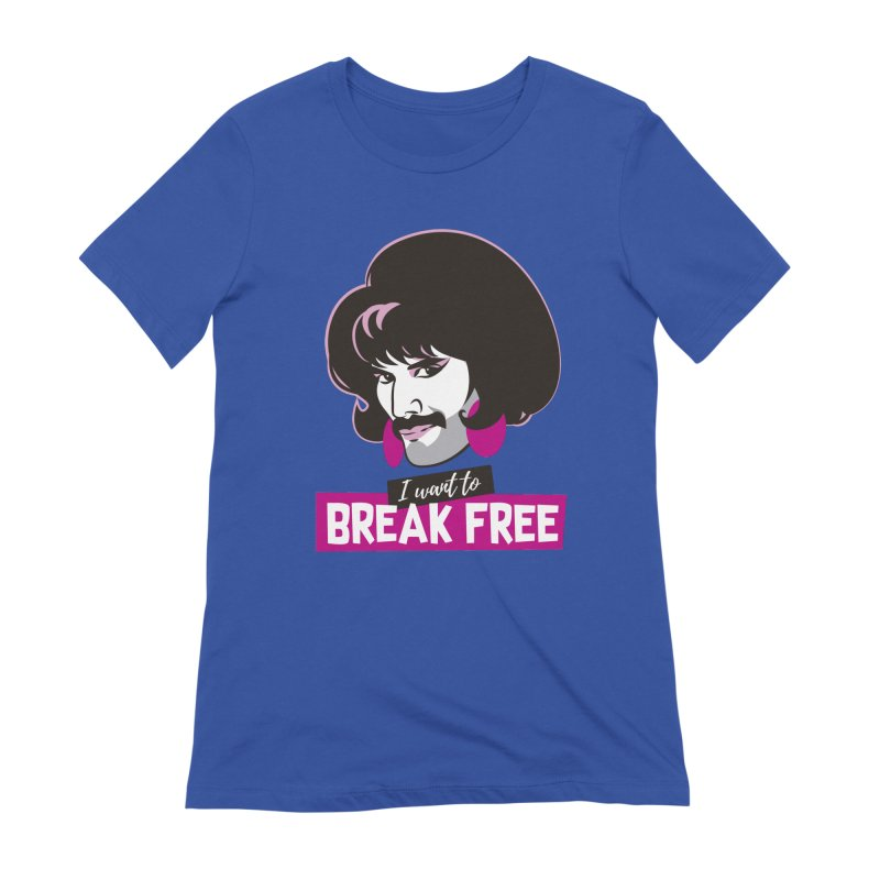 Free Women's Extra Soft T-Shirt by Ale Mogolloart's Artist Shop