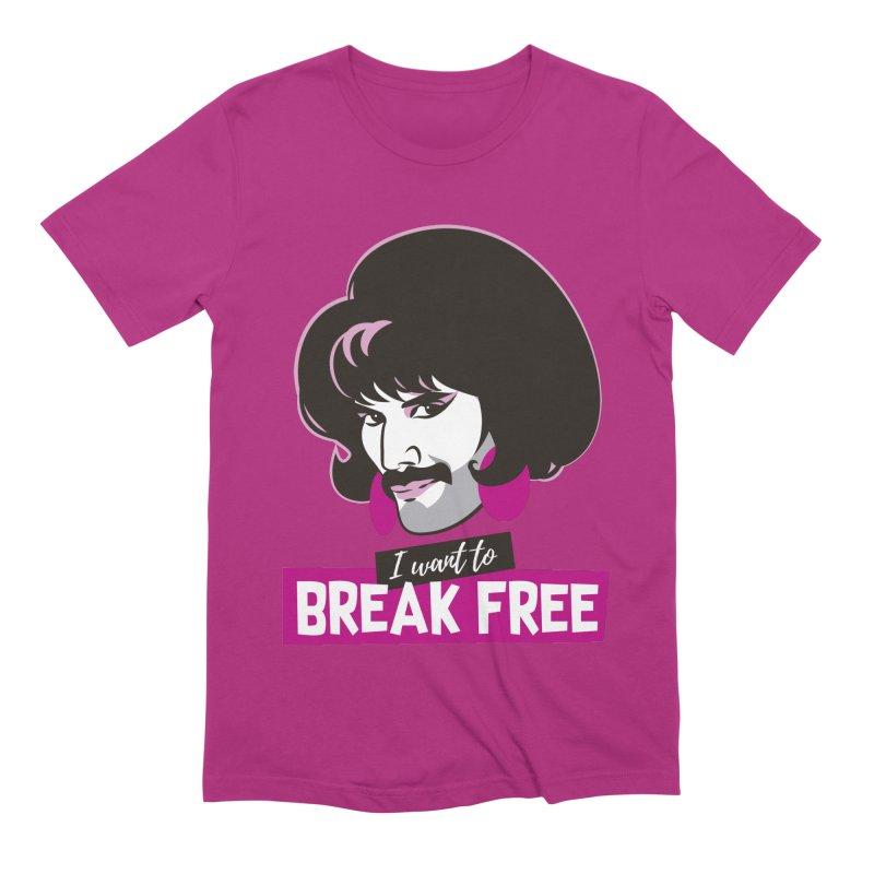 Free Men's Extra Soft T-Shirt by Ale Mogolloart's Artist Shop