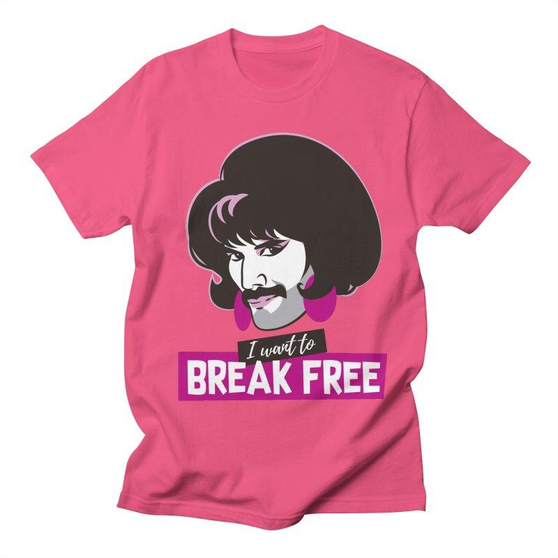 Free Men's Regular T-Shirt by Ale Mogolloart's Artist Shop