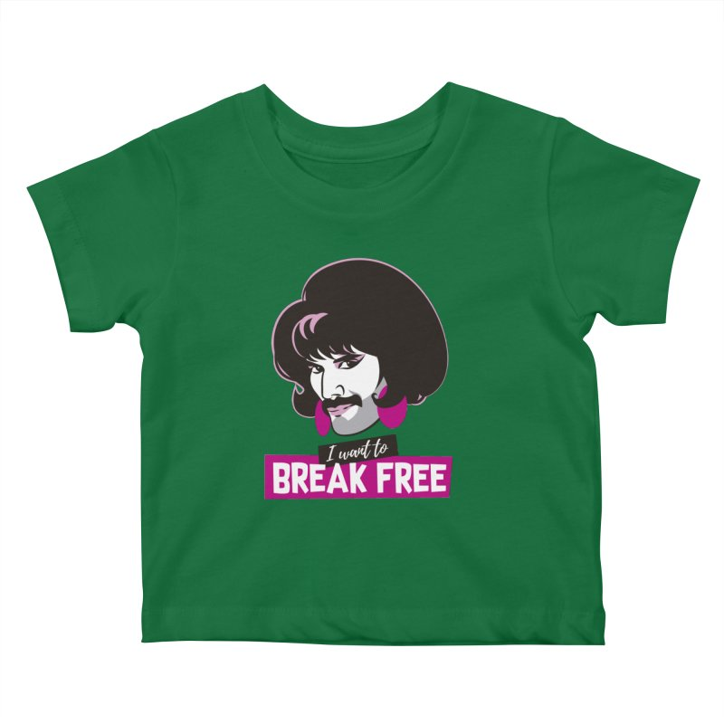 Free Kids Baby T-Shirt by Ale Mogolloart's Artist Shop