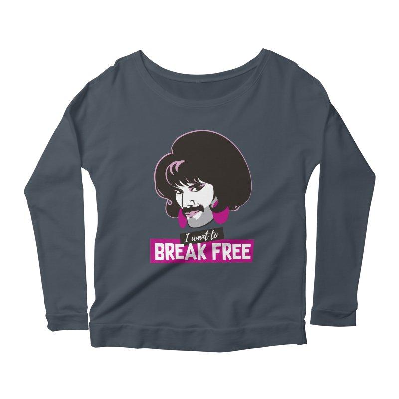 Free Women's Scoop Neck Longsleeve T-Shirt by Ale Mogolloart's Artist Shop