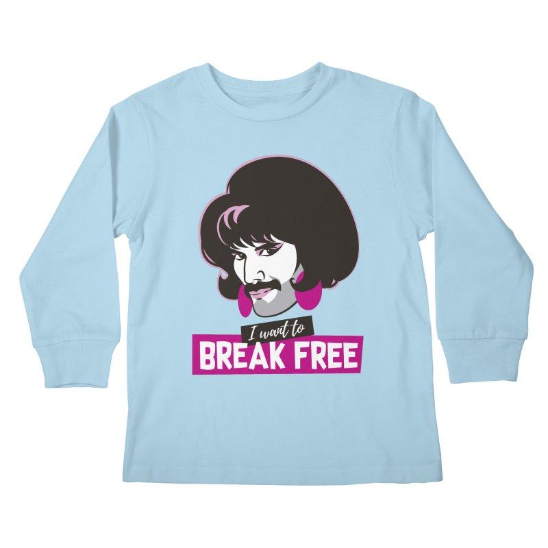 Free Kids Longsleeve T-Shirt by Ale Mogolloart's Artist Shop