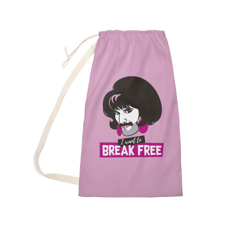Free Accessories Laundry Bag Bag by Ale Mogolloart's Artist Shop