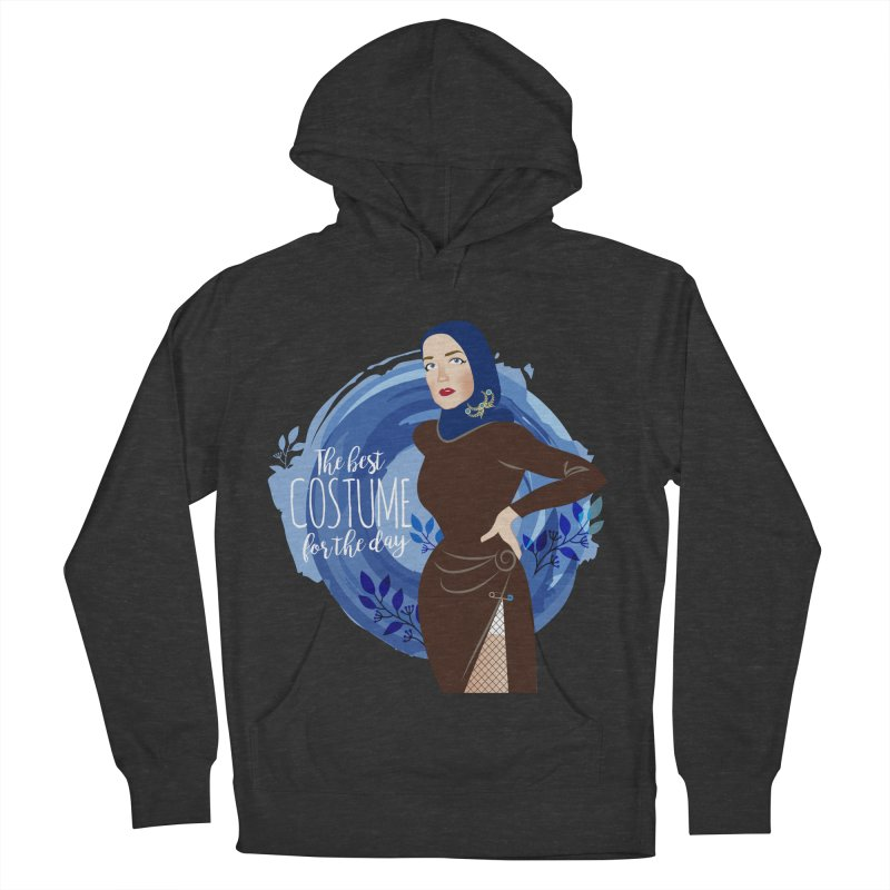 Costume Men's French Terry Pullover Hoody by Ale Mogolloart's Artist Shop