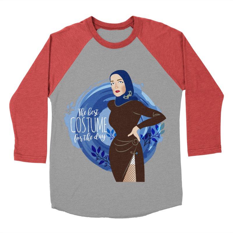 Costume Women's Baseball Triblend Longsleeve T-Shirt by Ale Mogolloart's Artist Shop