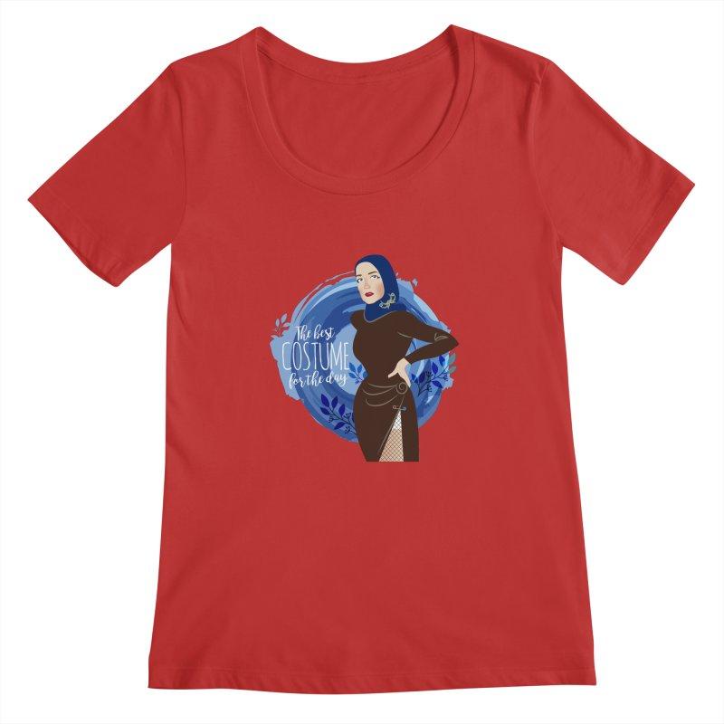 Costume Women's Regular Scoop Neck by Ale Mogolloart's Artist Shop