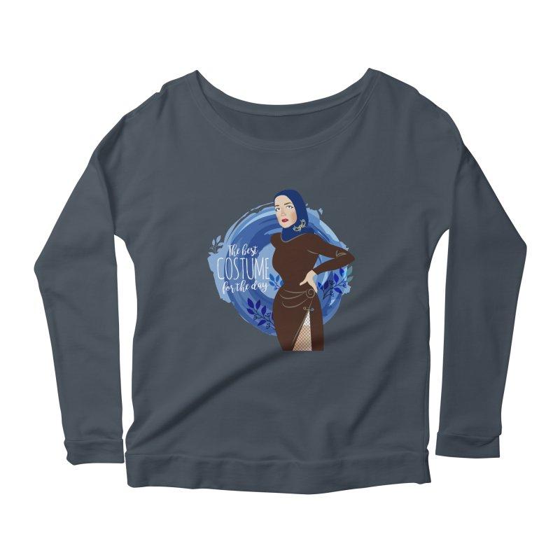 Costume Women's Scoop Neck Longsleeve T-Shirt by Ale Mogolloart's Artist Shop