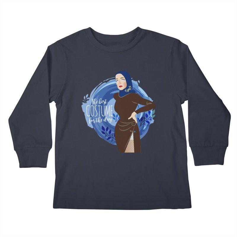 Costume Kids Longsleeve T-Shirt by Ale Mogolloart's Artist Shop