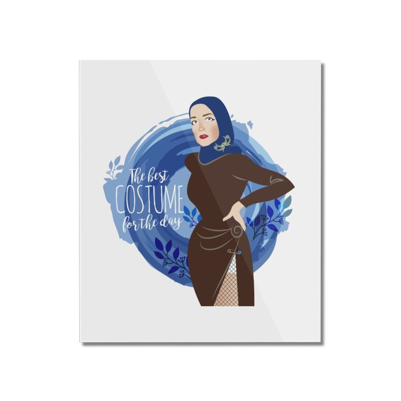Costume Home Mounted Acrylic Print by Ale Mogolloart's Artist Shop