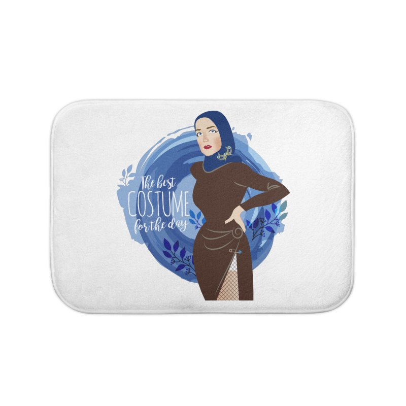 Costume Home Bath Mat by Ale Mogolloart's Artist Shop