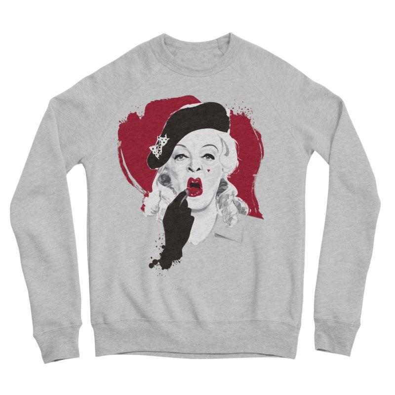 Baby Jane lipstick Women's Sponge Fleece Sweatshirt by Ale Mogolloart's Artist Shop