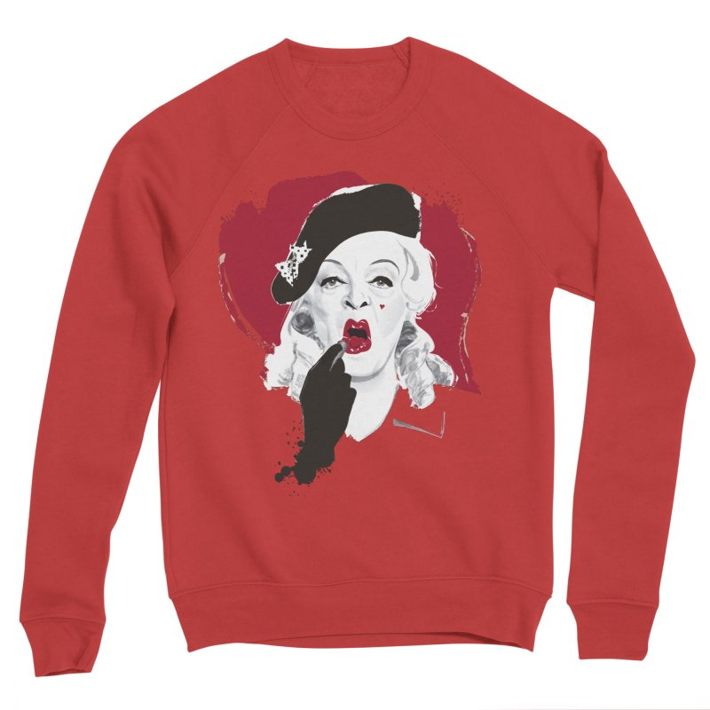 Baby Jane lipstick Men's Sponge Fleece Sweatshirt by Ale Mogolloart's Artist Shop